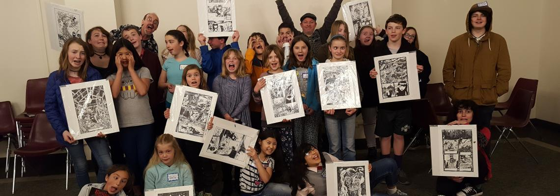 Young Writers Group Photo
